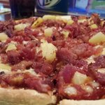 Bacon Pineaple Pizza at Midnight
