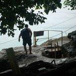 Escada de acesso à praia