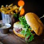 Lamb Burger with House Cut Fries