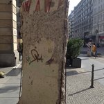 Berlin Wall Slab @ The Westin Berlin
