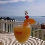Fantastic drink looking at amazing views!
