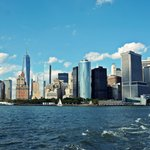 Manhattan skyline from the ferry