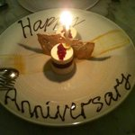 thanks for making our 1st anniversary extra special