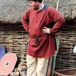 Fergal (aka Adam) describing Iron Age life in Ireland
