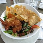 Coconut Shrimp Salad