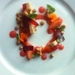 Plomme og foie gras