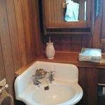 salle de douche en bois