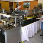 Buffet with Salad bar