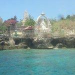 Hindu temple and Ganesha statue