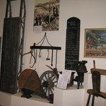 Gold Rush era display items