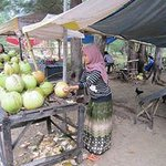 Fresh coconut stall