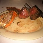 Steak & Lobster... what was left. VERY GOOD