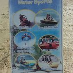 water sports prices