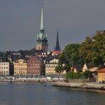 stoccolma vista dall'hotel skeppsholmen