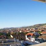 panorama su Martinsicuro che si ammira dal 5° piano del Sympathy