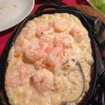 prawn with brandy and butter