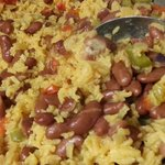 rice and beans from little stove