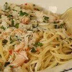 linguini crab and lobster