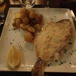 la dorade en croute de sel