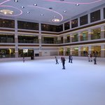 An ice rink!