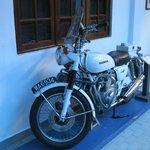 Retired Police Bike