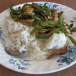 鳥肉野菜炒め