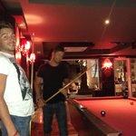 Pool table x