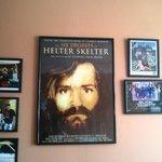 Charles Manson poster.