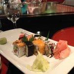 entrée sushi resto japonais