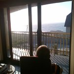 Guest enjoying the whales in Dingane