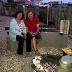 Guests enjoying a African Braai