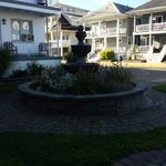 Fountain outside of Room 810