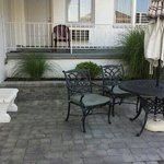 Patio in front of Room 810
