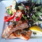 Wild salmon lemonato
