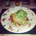Delicious Vegetarian lasagne