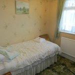 Room 2. Single en-suite room.