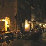 Les tables sur rue