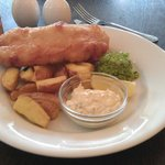Fish & Chips (with Brown AND Green Peas)
