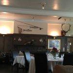Scottish Lodge style dining room