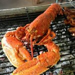 Wow lobster on the grill :)