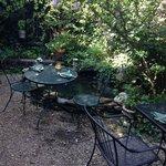 The garden seating