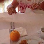 а завтракать приходилось на бумаге!!!