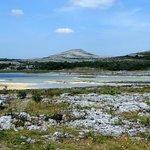 Turlough area in The Burren