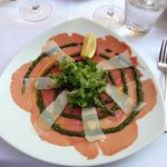 wonderful Carpaccio as entry