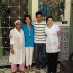 The lovely Staff of the Riad
