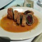 Panko Crusted Ahi Sashimi Sushi Roll