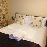Bed - nice looking, clean, very comfortable