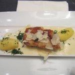 Cod in a Parmesan crust