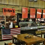 Eat at Hank's!