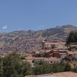 View of Cusco from the Quinua